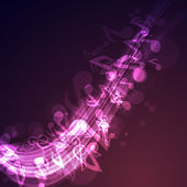 Abstract Musical Background. — Stock Vector