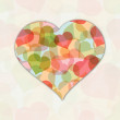 Abstract love concept, Valentines Day background. — 图库矢量图片 #34041291