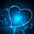 Abstract love concept, Valentines Day background. — Cтоковый вектор