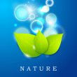 Nature background, eco friendly concept. — Stock Vector #34047687