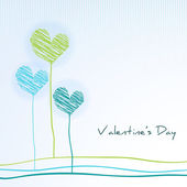 Love concept, Valentines Day background. — Stock Vector
