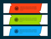 Abstract infographics templates. — Stock Vector
