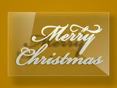 Merry Christmas celebration greeting card or background. — Vetorial Stock