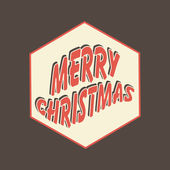 Merry Christmas celebration greeting card or background. — Stockvektor