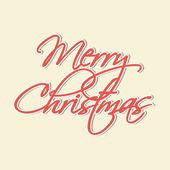 Feliz natal celebração cartão ou plano de fundo. — Vetor de Stock