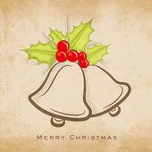 с рождеством праздник открытка или фон. — Cтоковый вектор