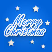 Merry Christmas celebration background. — Stockvektor