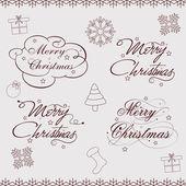 快乐的圣诞节庆祝活动背景. — 图库矢量图片