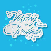 Merry christmas celebration achtergrond. — Stockvector