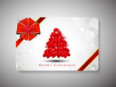 Happy New Year 2014 and Merry Christmas celebration gift card. — Stock vektor