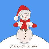 God jul och gott nytt år 2014 firande partiet affischen, banner eller flyer. — Stockvektor