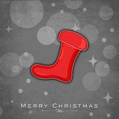 Joyeux Noël et bonne année 2014 célébration parti affiche, bannière ou une brochure. — Vecteur