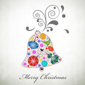 Merry Christmas celebration background. — Vettoriale Stock