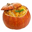 Pumpkin risotto isolated — Stock Photo #12752026