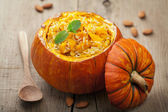 Pumpkin risotto — Stock Photo