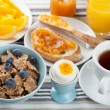 Healthy breakfast — Stock Photo #14438425