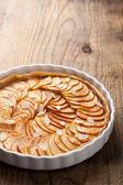 Torta de maçã — Fotografia Stock