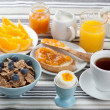 Healthy breakfast — Stock Photo #19483187