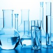 Stock Photo: Chemical laboratory glassware
