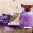 Lavender salt — Stock Photo #21371131