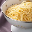 Spaghetti in colander — Stock Photo #29891629