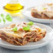 Lasagna bolognese — Stock Photo