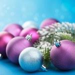 Colorful christmas balls — Stock Photo #31711103