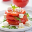 Stock Photo: Salad with tomatoes and feta