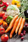 Colorful fresh vegetables — Stock Photo