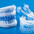 Stock Photo: Individual set for teeth whitening