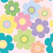 Fleurs fond — Vecteur