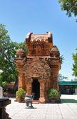 Po Nagar Cham towers, Nha Trang. — Stock Photo