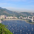 Botafogo beach viewed from Suggar Loaf - Foto Stock