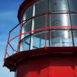 Stock Photo: Lighthouse against blue sky.