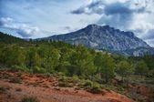 Bella vista sulle montagne. — Foto Stock