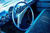 Interior coche retro — Foto de Stock