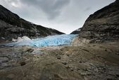 Nigardsbreen glacier, Norway — Stock Photo