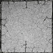 Cracked concrete texture — Stock Photo