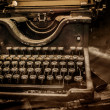 Royalty-Free Stock Photo: Old rusty typewriter