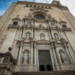 Girona's Cathedral, Spain — Stock Photo