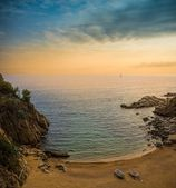 Beautiful lagoon in Tossa de Mar — Stock Photo