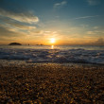 Sunrise over sea — Stock Photo #14078720