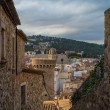 Streets of Tossa de Mar - Stockfoto