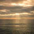 Beautiful sunset over an ocean — Stock Photo #14078836