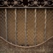Stock Photo: Vintage metal decoration close-up