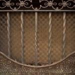 Vintage metal decoration close-up — Stock Photo