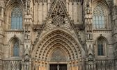 Old cathedral architecture details — Stock Photo