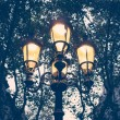 Royalty-Free Stock Photo: Illuminated streetlight outdoors