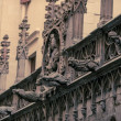 Facade details of old building — Stock Photo