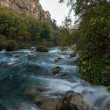 Fast river in Fontaine-de-Vaucluse, France — Stock Photo #16278711